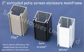 porch screening materials screened wall systems aluminum