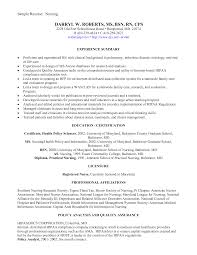 Recent Graduate Resume Sample Stibera Resumes New Nurse With No