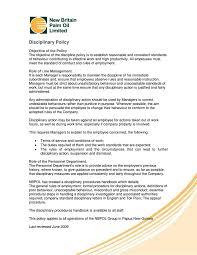 disciplinary policy template. 4 Disciplinary Procedure Policy Templates Free Premium Templates