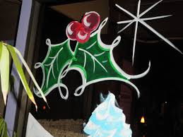 Simple Christmas Designs To Paint Images For Christmas Window Painting Designs Christmas