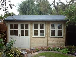 home office in the garden. 4200mm Wide X 2400mm Deep Traditional Office. Home Office In The Garden