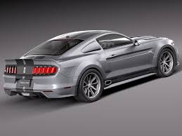 2015 Ford Mustang Shelby GT500 rear side photo new release ...