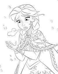 Cute Frozen Coloring Pages At Getdrawingscom Free For Personal