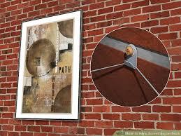 image titled hang something on brick step 9