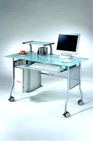 contemporary glass desk modern glass computer desk glass desk for computer marvelous modern glass computer desk