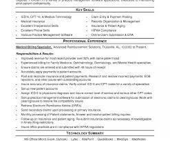 Medical Billing Resume Samples Medical Billing And Coding Resume Berathen With Regard Tor Sample 10