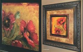 wall art framed decor tuscan