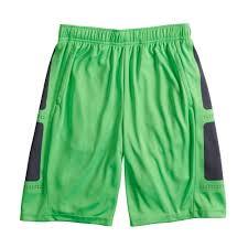 Boys 8 20 Tek Gear Laser Cut Shorts In Regular Husky