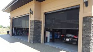 garage door screens retractablePhantom Motorized Retractable Screens Edmonton  Northern Alberta