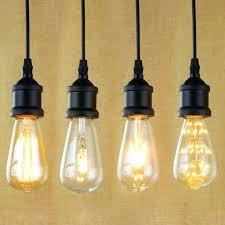 3 edison bulb pendant lights simple 8 light black led multi europa t14 bronze socket i