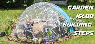 garden igloo. [Blog] How To Build A Garden Igloo D