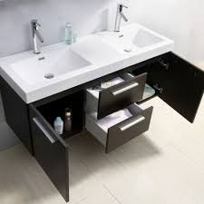 54 bathroom vanity double sink. sink white bath vanity virtu usa midori 54 inch double wenge bathroom