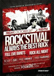 Concert Flyer Templates Free Free Concert Poster Template