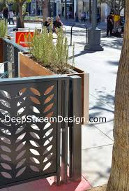 restaurant patio planters. Perfect Patio Rectangular Wood Planter For Restaurant Patio For Restaurant Patio Planters N