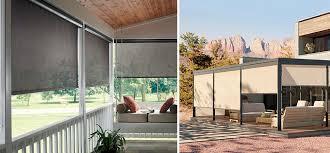 outdoor curtains sun shades outdoor window blinds graber lightweaves patio shades grey sunshades beige sun shades