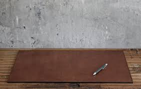 office desk cover. Brown Leather Office Desk Cover Mat