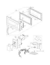Frigidaire model fgmv174kfc microwave hood bo genuine parts outlet wiring methods