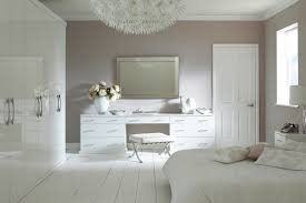 All White Bedroom Furniture Custom Decoration