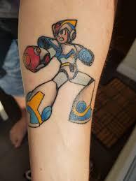 New Tattoo Megaman X Light Armour Album On Imgur