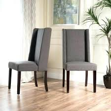 cloth chairs furniture. Cloth Wingback Chairs Dining Fabric Furniture Velvet Button Back Chair Silver Dark Upholstered Y