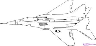 Dessins De Coloriage Avion De Guerre Imprimer Sur L