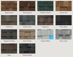 architectural shingles colors. Owens Corning Oakridge® Shingles Featuring Artisan Colors Architectural