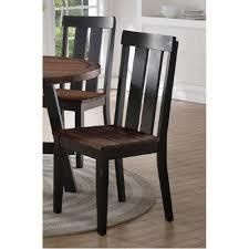 dark brown dining chair set of 2 dark brown rattan dining chairs