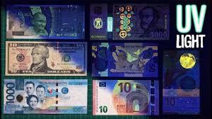 Fake Note Uv Light What Happens To Banknotes Under Uv Light