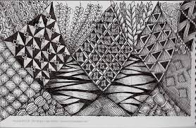 Zentangle Patterns Pdf Unique Design Ideas