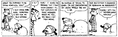 conversation caitlin moran is homework helpful or harmful homework calvinandhobbes 1992