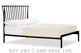 Irvine Metal Bed