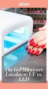 the gel manicure lowdown uv vs led
