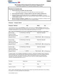 Bank Letter For Direct Deposit Revolutioncinemarentals Com