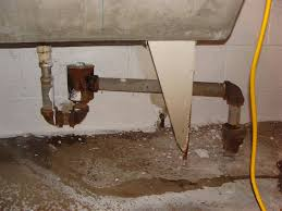 drum trap at laundry sink
