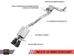 awe tuning vw mk6 jetta 1 8t exhaust suite awe tuning 2000 jetta vr6 exhaust diagram at 2000 Jetta Exhaust Diagram