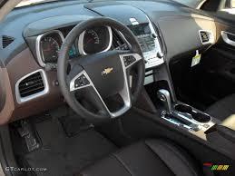 Brownstone/Jet Black Interior 2011 Chevrolet Equinox LT Photo ...