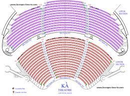 71 True To Life Cirque Du Soleil Las Vegas Seating Chart