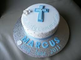 Boys First Holy Communion Cakecentralcom