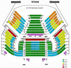 Kc Music Hall Seating Chart Christmas Carol Spencer Map 8 1 16 Kansas City Repertory