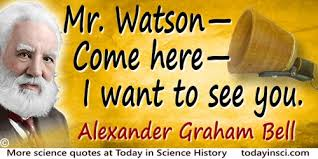Image result for The first successful test of a telephone is made by Alexander Graham Bell