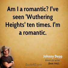 Wuthering Heights Quotes Magnificent Johnny Depp Movies Quotes QuoteHD