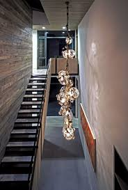 modern hanging lights staircase contemporary with aluminum windows u2026 in pendant for staircase hanging lights i53