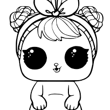 20 Free Printable Lol Surprise Pets Coloring Pages Coloring Junction