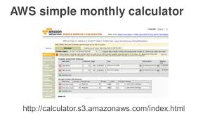 Simple Monthly Calculator Running Lean Architectures