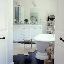 white bathrooms with dark floors. photo by william waldron/the interior archive white bathrooms with dark floors m