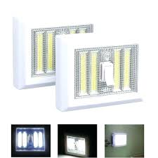 cordless closet light portable lights s led night battery operated 4 cob panels new super bright