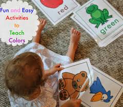 Montessori Color Sorting Activity For Toddlers The Mommy Talks