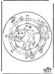 Mandala Mucca Mandala Animali