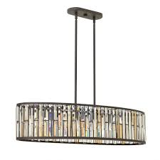 fredrick ramond gemma 6 light linear chandelier in vintage bronze linear chandeliers chandeliers