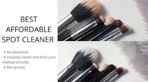 makeup artist hack how to spot clean your makeup brushes philippines